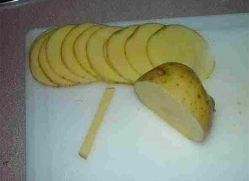DIY Amazing Creative Fry Rose Potatoes