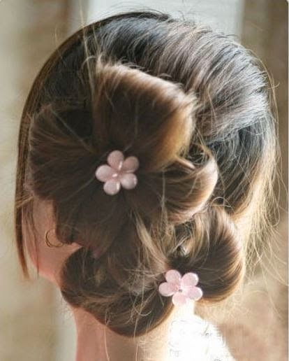 diy-double-ponytail-flower-shape-updo-hairstyle-1