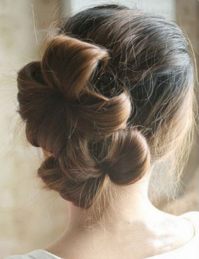 diy-double-ponytail-flower-shape-updo-hairstyle-8