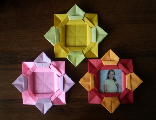 Cool Creativity Diy Origami Flower Picture Frame