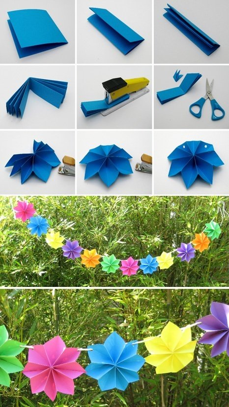 Diy paper party decoration for Cool paper decorations