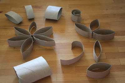 DIY Pretty Candle Holder Using Toilet Paper Roll