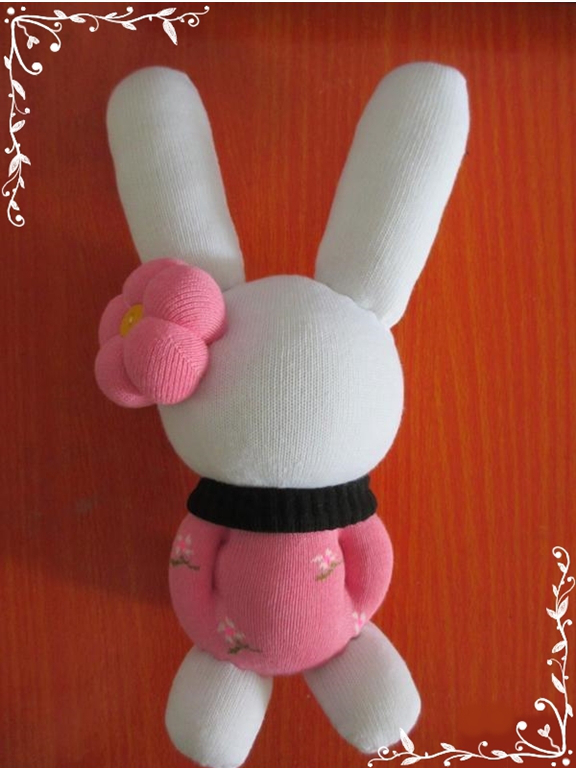 Diy Pretty Bunny Rabbit With Sock
