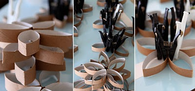 Diy Toilet Paper Roll 3d Flower Wall Art