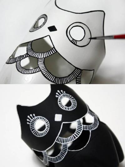 Diy Make An Owl With Plastic Bottles