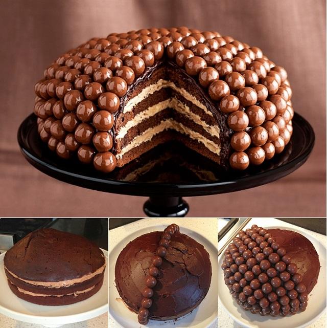 DIY Make Amazing Maltesers Cake
