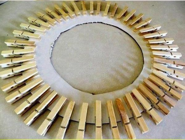 DIY-Clothespin-Picture-Frame-0-4 - Cool Creativities