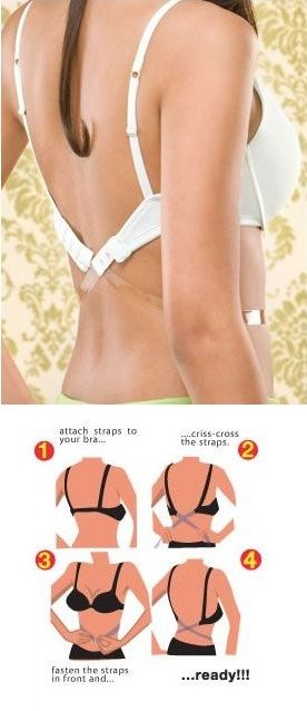 DIY How to Make Low Bra Strap in 5 Minutes