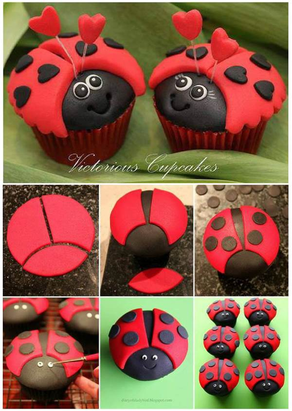 How-to-DIY-Cute-Ladybug-Cupcakes