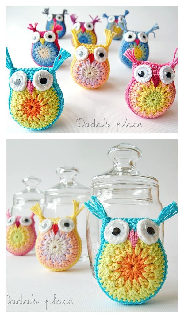 Little Crochet Owls Free Pattern