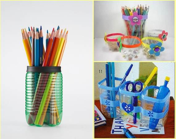 Diy 9 creative ways of recycling plastic bottles for Ways to recycle plastic bottles
