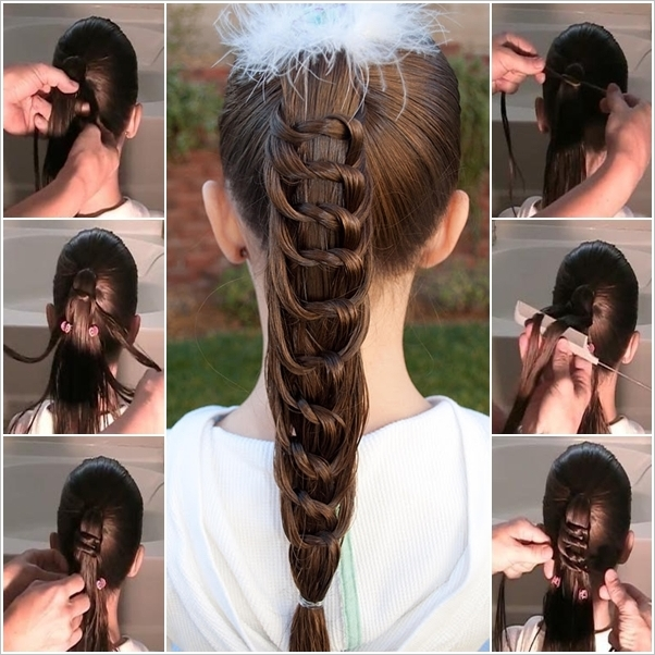DIY Amazing Knotted Ponytail Hairstyle