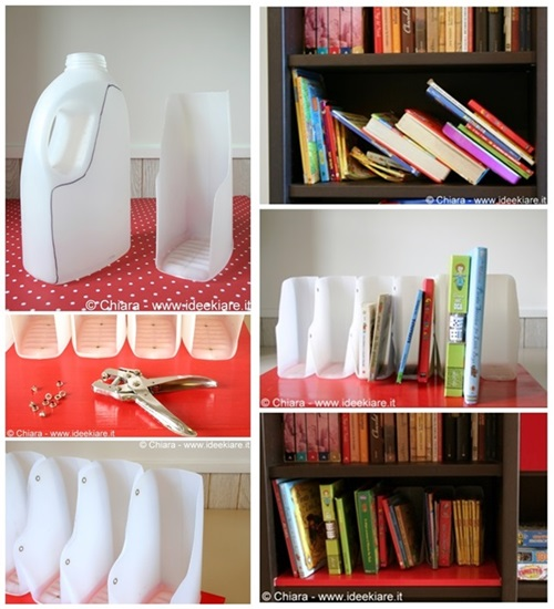diy-book-organizer-from-recycled-plastic-bottles-f