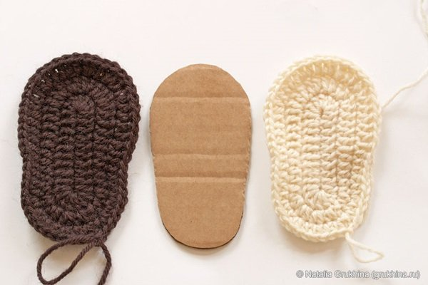 Crochet Pattern For Baby Ugg Booties : DIY Crochet Baby Booties- UGG Style