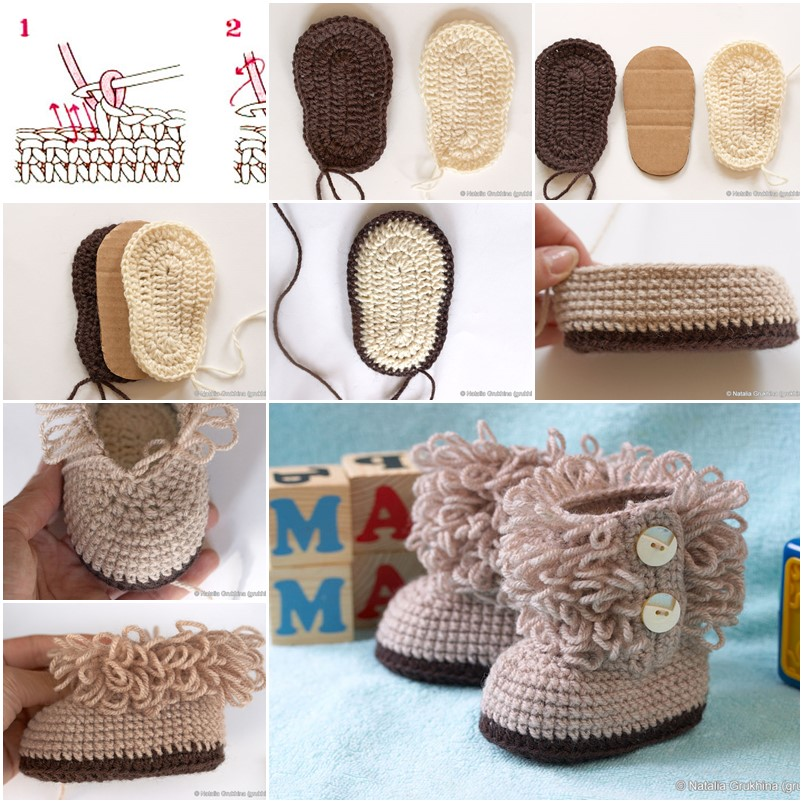 30+ Crochet Baby Shoes Ideas and Patterns