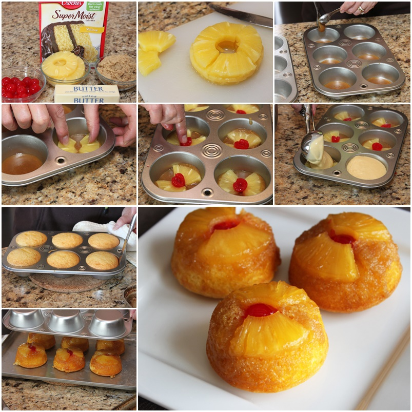 diy-pineapple-upside-down-cupcakes