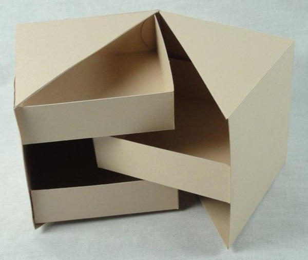 Cardboard Recipe Box Craft