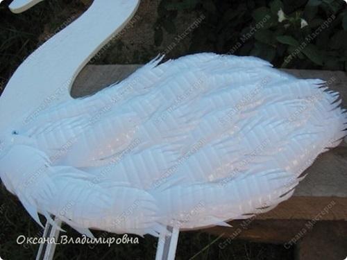Diy swan garden decorations using plastic bottles - Diy Swan Garden Decorations Using Plastic Bottles