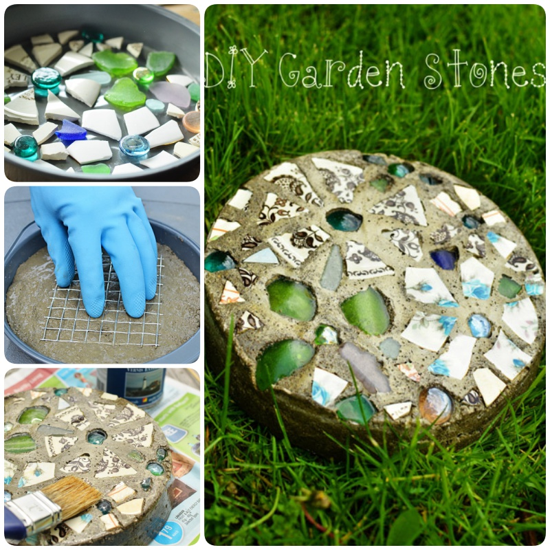 ow to Make Stepping Stones with a Cake Pan