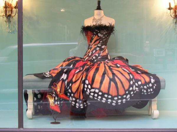 Своими руками платье-бабочка