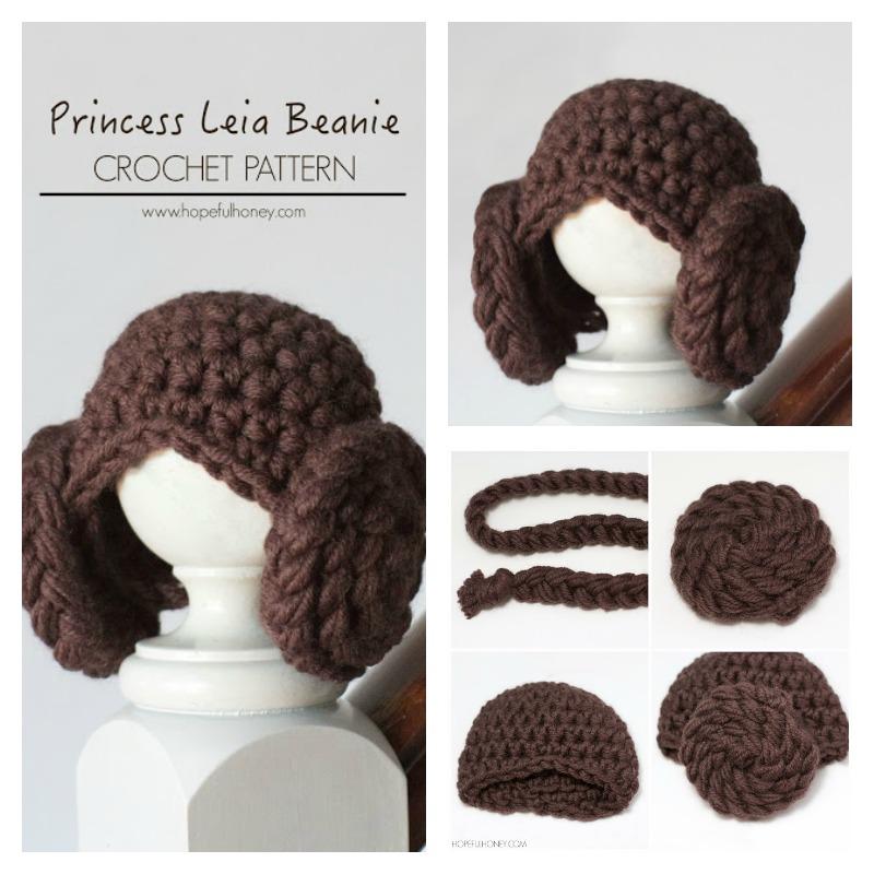 Crochet Pattern Princess Leia Hat : DIY Adorable Princess Leia Yarn Wig