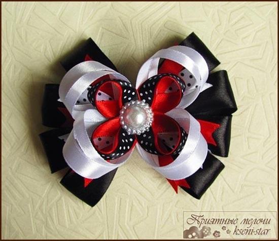 DIY Beautiful Satin Ribbon Hair Clip-1