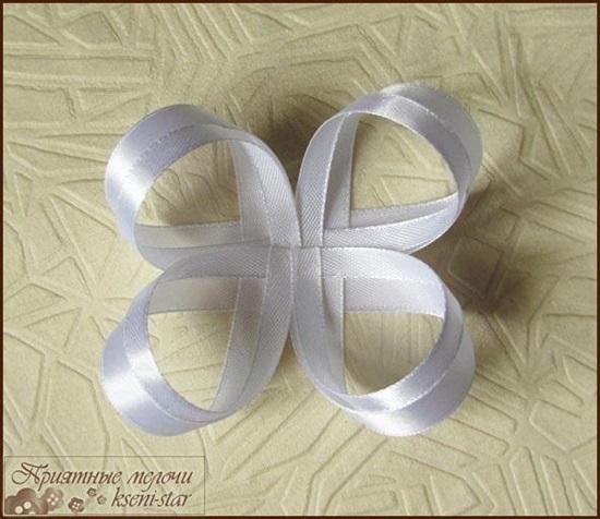 DIY Beautiful Satin Ribbon Hair Clip-4