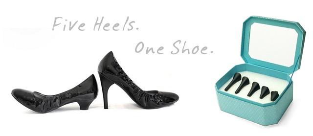 convertible high heel shoes