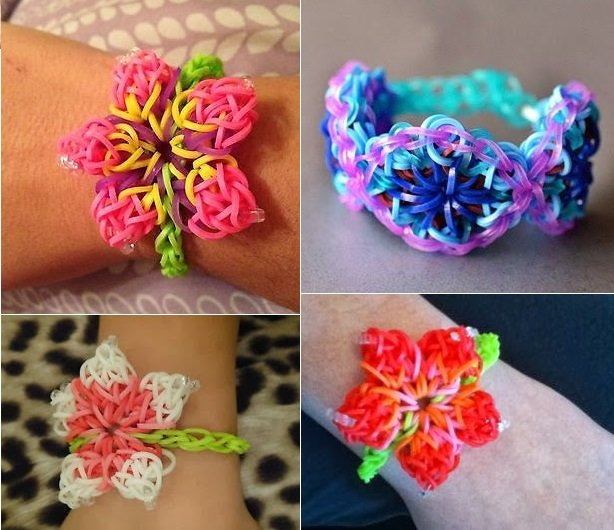 how to make cool bracelets out of rainbow loom