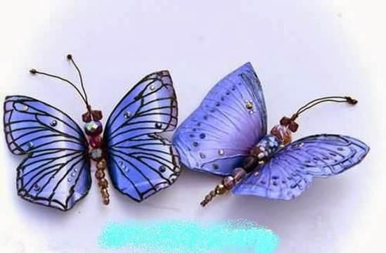 DIY Beautiful Butterflies from Plastic Bottles