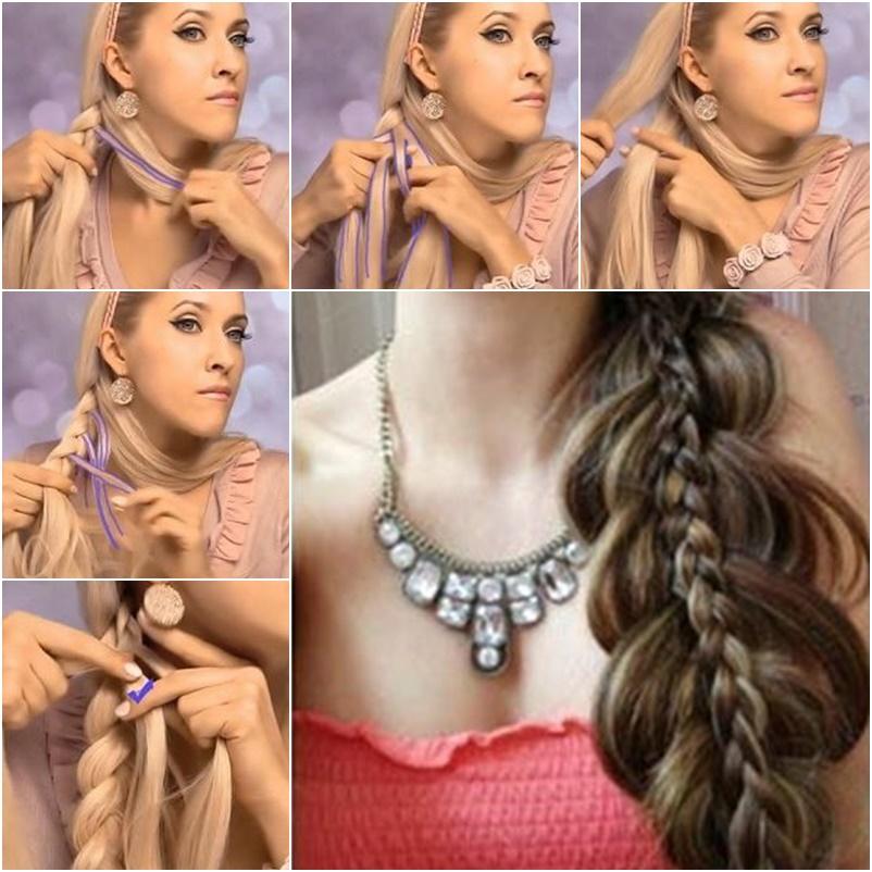 Wondrous Diy Beautiful Double Braid Hairstyle Short Hairstyles Gunalazisus