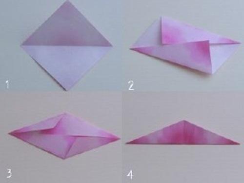 Origami Paper Flowers Vase Flowers Healthy