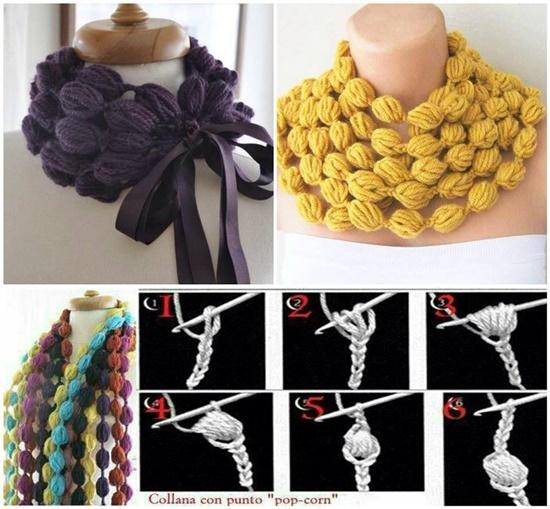 diy-crochet-puff-ball-scarf-1
