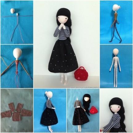 Как сделать куклу с