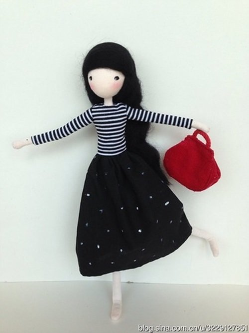 Diy Cute Mini Doll With Wire