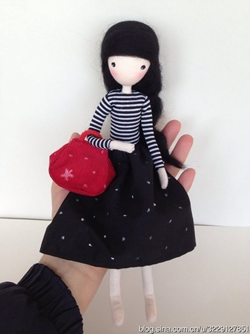 Case Design crochet cell phone case : DIY Cute Mini Doll with Wire : Cool Creativities