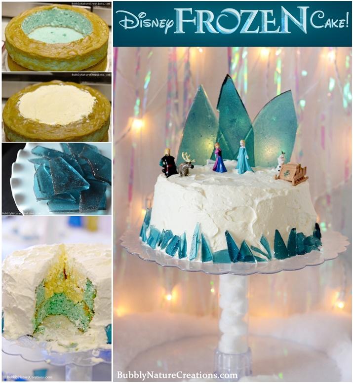 diy-disney-frozen-ice-cream-cake