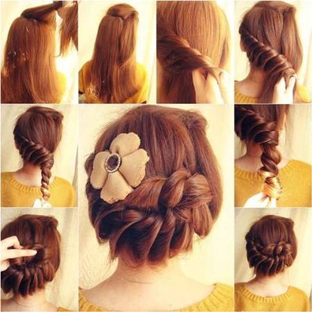 diy prom hairstyles : Diy Braided Hairstyles Cute Long Hair Via Pictures to pin on Pinterest