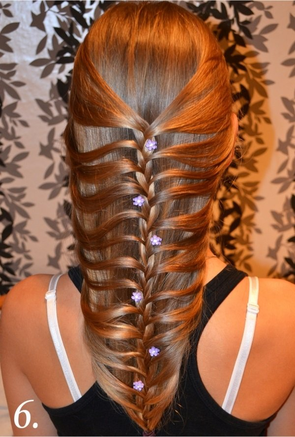 DIY Fishtail Braid / Mermaid Braid Hairstyle
