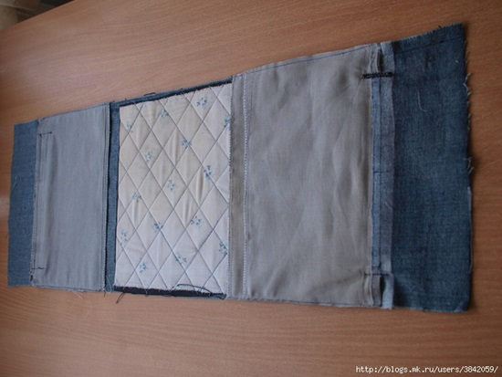 DIY Recycled Jeans Bag...