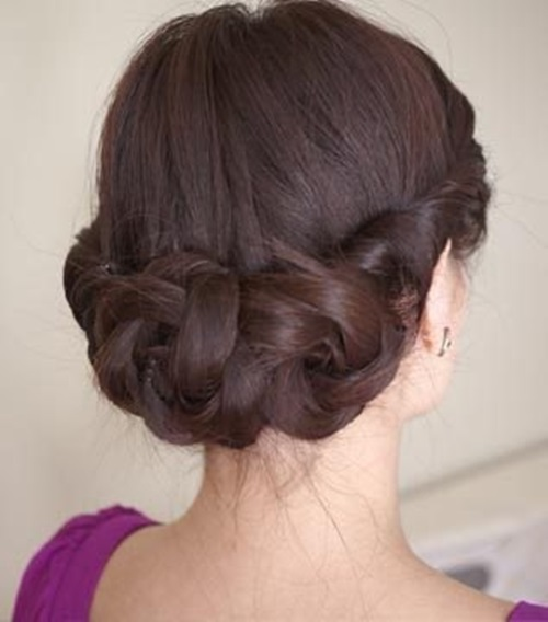 Diy Hairstyles For Long Hair: DIY Simple And Awesome Twisted Updo Hairstyle