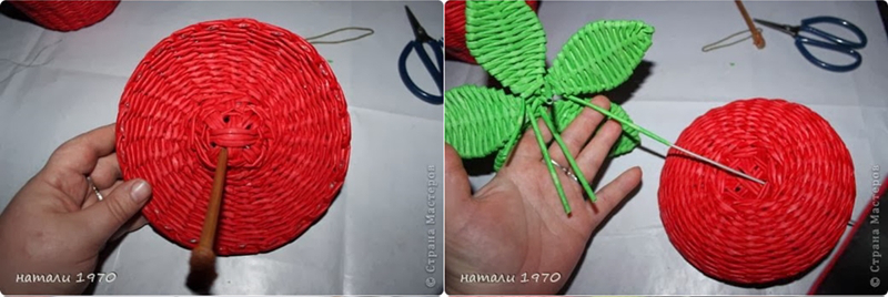 diy-woven-strawberry-shaped-basket-from-recycled-newspaper-00-19
