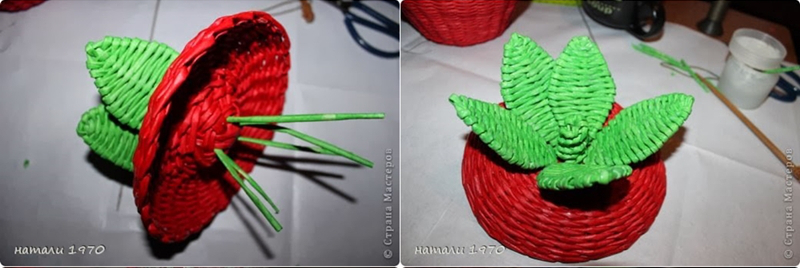 diy-woven-strawberry-shaped-basket-from-recycled-newspaper-00-20