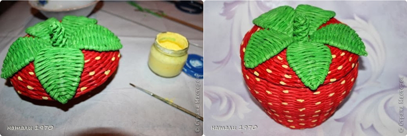 diy-woven-strawberry-shaped-basket-from-recycled-newspaper-00-22