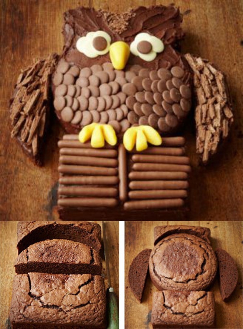 How To Make Cute Owl Cake