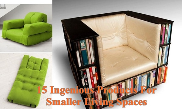 15 Ingenious Products For Smaller Living Spaces