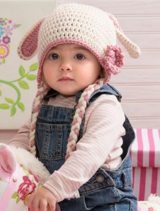 40 Crochet Animal Hat With Patterns Sweet Bunny Hat Cool