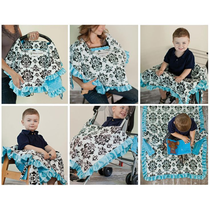 Babee Covee 6-in-1 Baby Blanket & Cover
