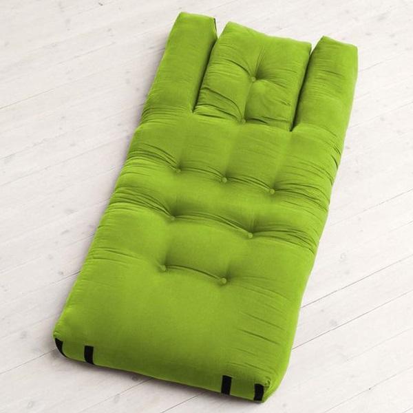 A mattress that can transform into a chair-1