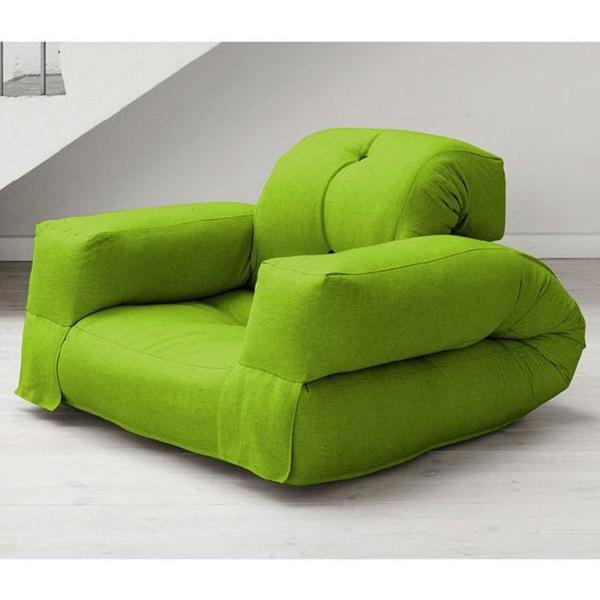 A mattress that can transform into a chair-2